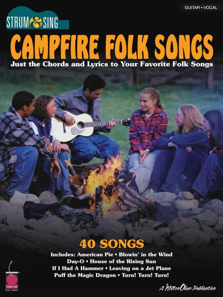 Campfire Folk Songs Sheet Music By Various - Sheet Music Plus