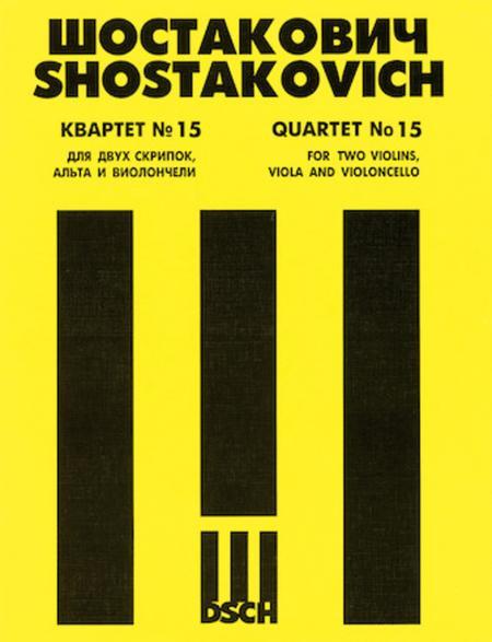 String Quartet No. 15, Op. 144