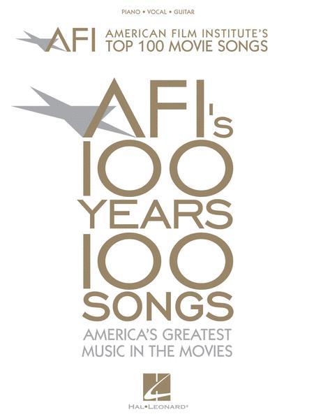 american film institutes top 100 movie songs sheet music