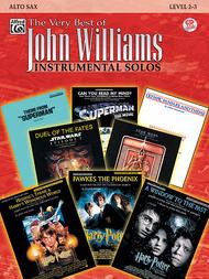 The Very Best of John Williams - Alto Sax (Book/CD)