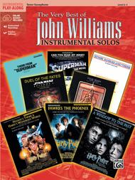 The Very Best of John Williams - Tenor Sax (Book/CD)