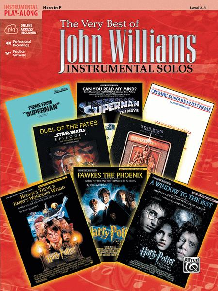 The Very Best of John Williams - F Horn (Book/CD)