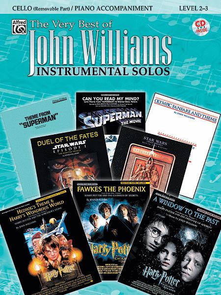 The Very Best of John Williams - Cello (Book/CD)