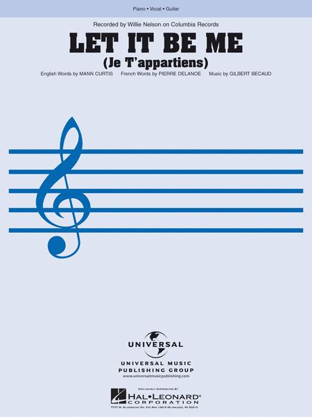 Let It Be Me Sheet Music By Willie Nelson - Sheet Music Plus