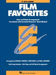 Film Favorites - Eb Alto Clarinet