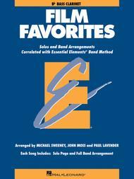 Film Favorites - Bb Bass Clarinet