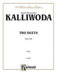 Two Duets, Op. 208