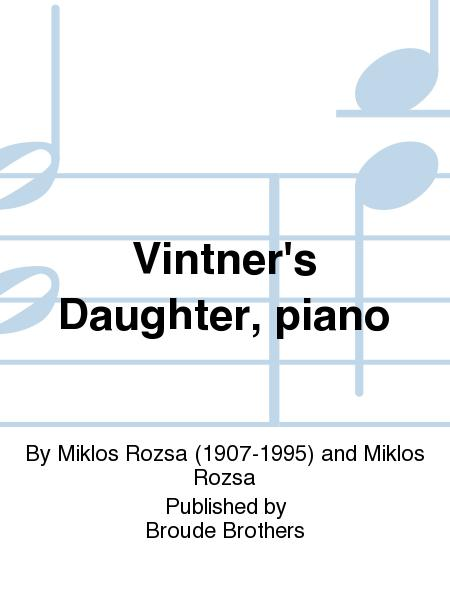 The Vintner's Daughter, Op. 23a (Piano Solo)