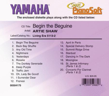 Artie Shaw - Begin the Beguine - Piano Software