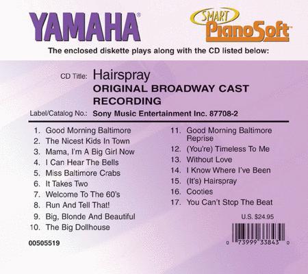 Hairspray (Original Broadway Cast Recording) - Piano Software