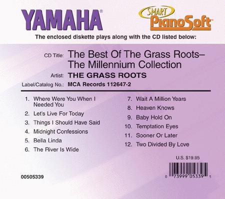 The Best of The Grass Roots - The Millennium Collection - Piano Software