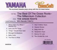 The Best of The Grass Roots - The Millennium Collection - Piano Software Smart PianoSoft  ByThe Grass Roots