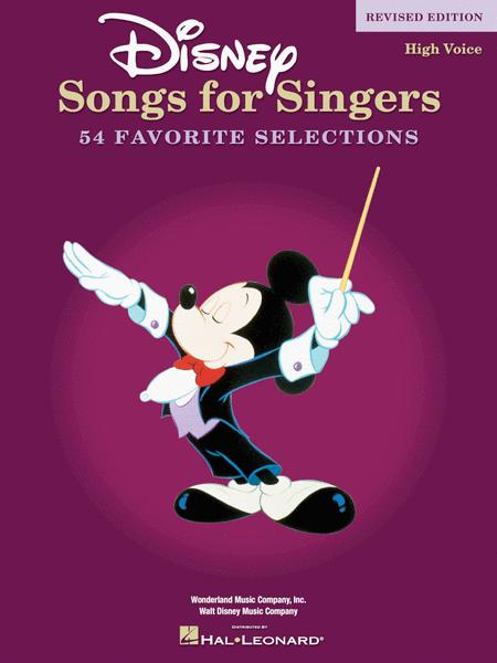Disney Songs for Singers - Revised Edition