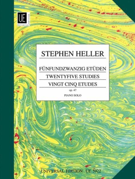 Etudes, 25, Op. 47, Piano