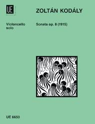 Cello Sonata, Op. 8