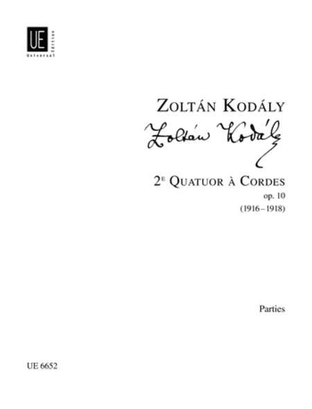 String Quartet 2, Op. 10/2