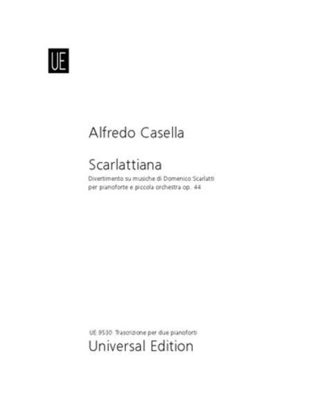 Scarlattiana, 2 Pianos, 4 Hands