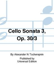 Cello Sonata 3, Op. 30/3