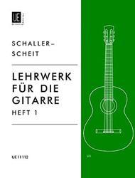 Lehrwerk, Guitar, V. 1, Scheit