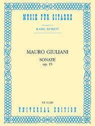 Guitar Sonata, Op. 15, Scheit