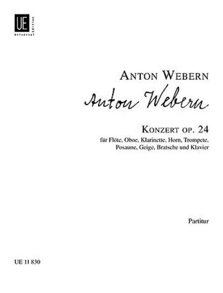 Concerto, Op. 24, Full Score