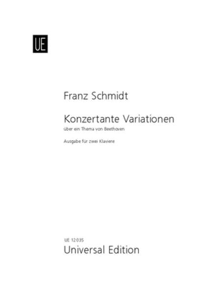Concertante Variations/ Beetho