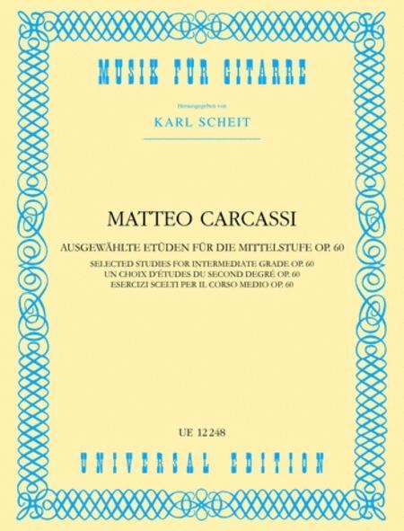 Intermediate Etudes, Op. 60