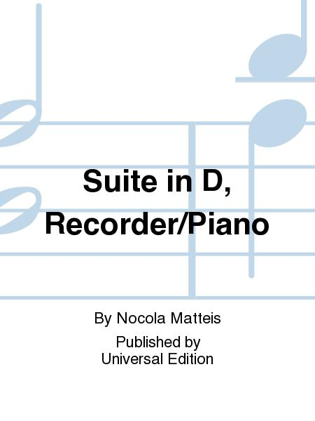 Suite in D, Recorder/Piano