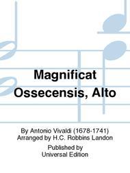 Magnificat Ossecensis, Alto