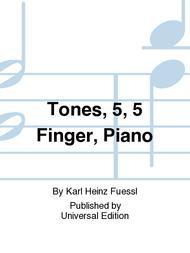 Tones, 5, 5 Finger, Piano