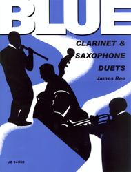 Blue Clarinet And Saxophone Du