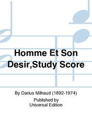 Homme Et Son Desir,Study Score