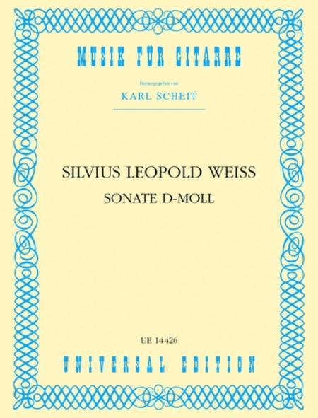 Guitar Sonata, D Min, Scheit