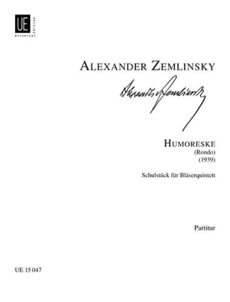 Humoreske, Wind Quintet, Study