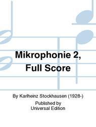 Mikrophonie 2, Full Score