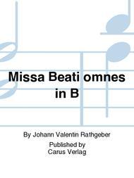 Missa Beati omnes in B