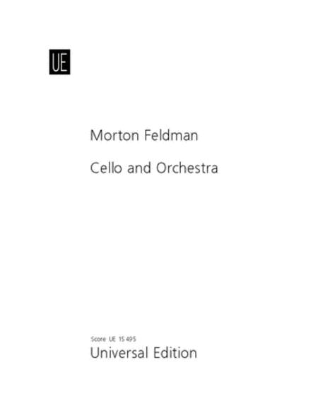 Cello And Orchestra Study Sco
