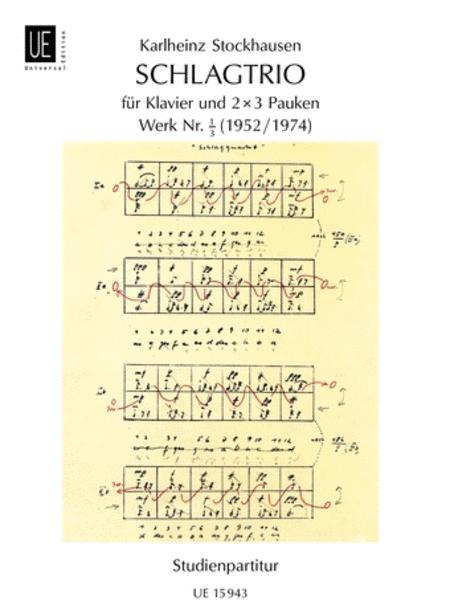 Schlagtrio, Nr.1/3, Piano/Timp, S