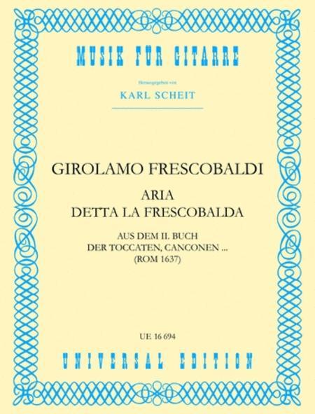 Aria Detta La Frescobalda, Gui