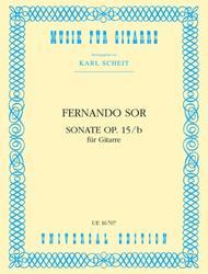 Guitar Sonata, Op. 15B (Scheit