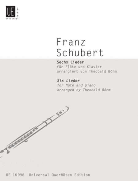 Schubert Lieder, 6