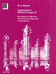 Organ Works, Vol. 4