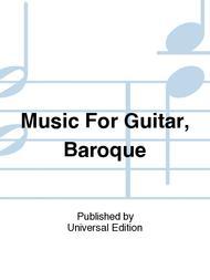 Music For Guitar, Baroque