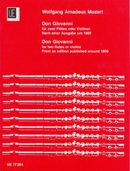 Don Giovanni, 2 Flutes