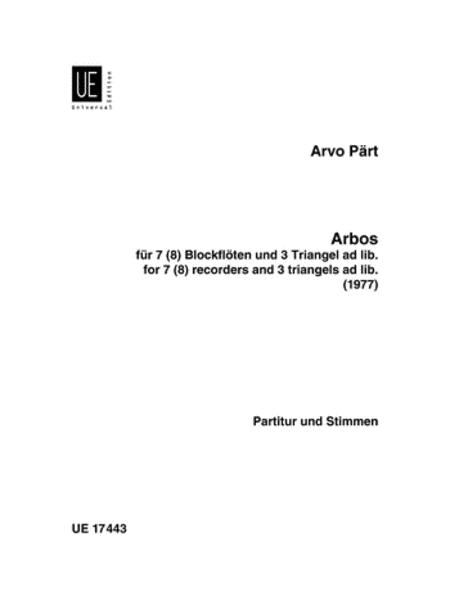 Arbos, 7 Recorders/3 Triangles