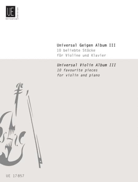 Universal Violin Album Vol.3