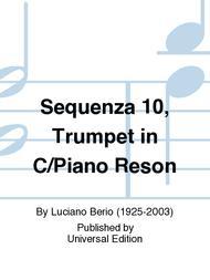 Sequenza 10, Trumpet in C/Piano Reson