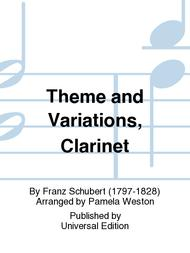 Theme And Variations, Clarinet