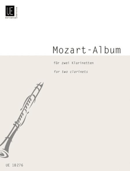 Mozart Album For 2 Clarinets