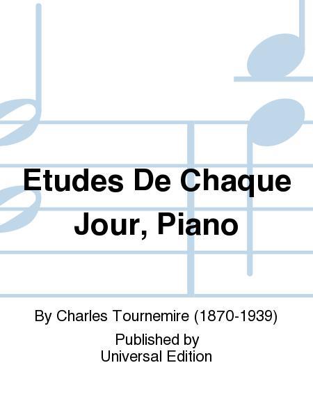Etudes De Chaque Jour, Piano